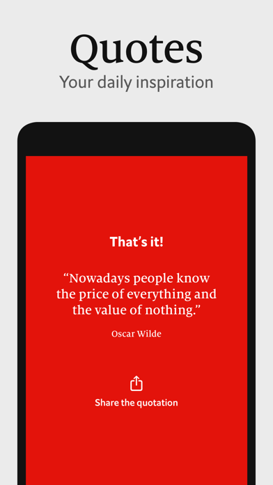 Economist Espresso Screenshot
