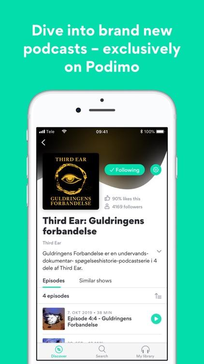 Podimo – a world of podcasts screenshot-5