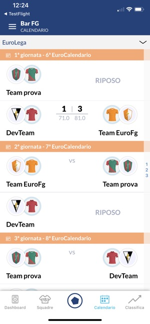Calendario Euroleghe Fantagazzetta.Euroleghe Fantacalcio On The App Store