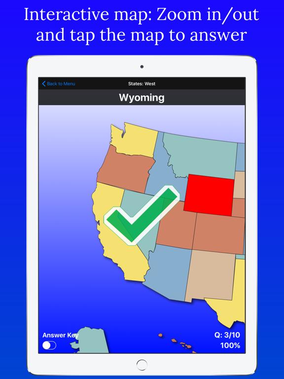 United States Map Quiz Edu Ed. | App Price Drops