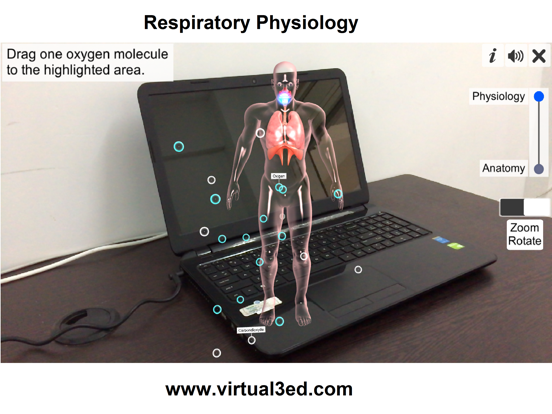 AR Respiratory system physiolo screenshot 10