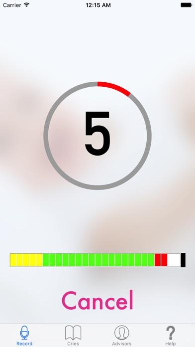 Screenshot for Cry Translator in Denmark App Store