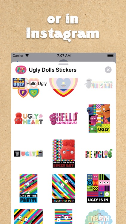 UglyDolls Stickers screenshot-5
