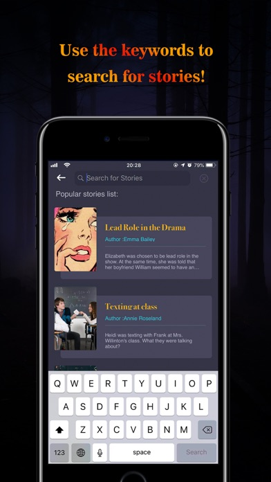 Screenshot for Trem - Chat & Text Story in United States App Store