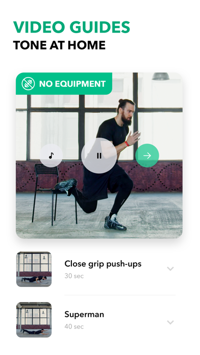 My Fitness Workout by GetFit Screenshot