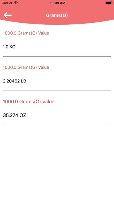 Sling load N Weight Converter screenshot 6