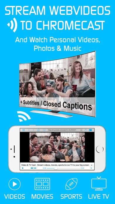 Video & TV Cast | Chromecast by 2kit consulting (iOS, United States