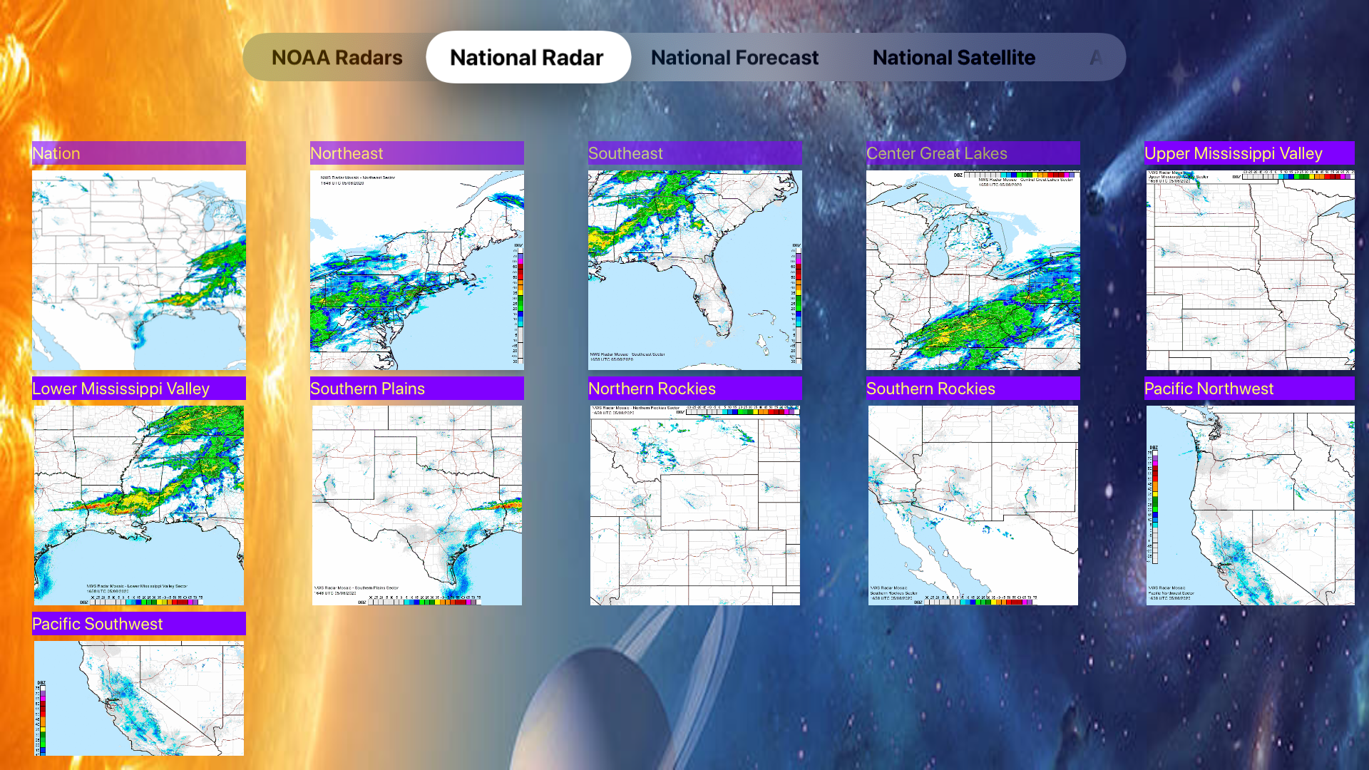 US NOAA Radars 3D screenshot 21