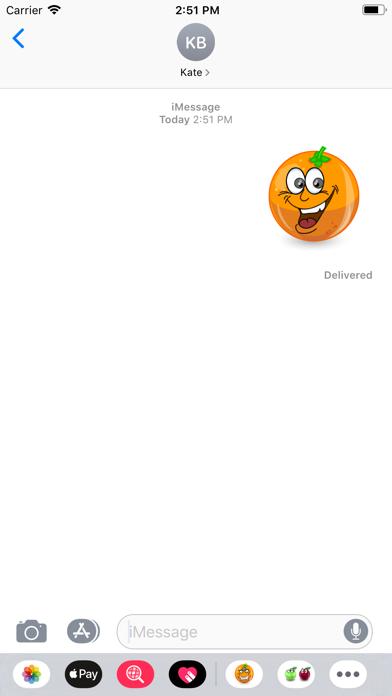 OrangeFruitFacesSt screenshot 4