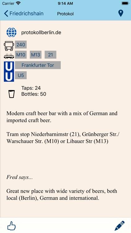 Beer Guide Berlin screenshot-4