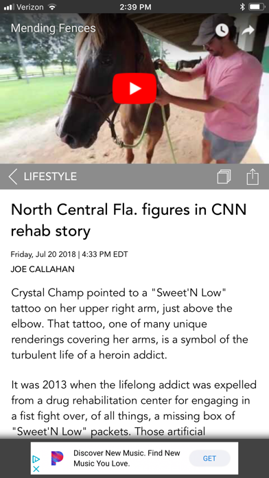 The Gainesville Sun Screenshot