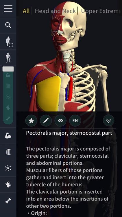 3D motion anatomy teamLabBody screenshot-3