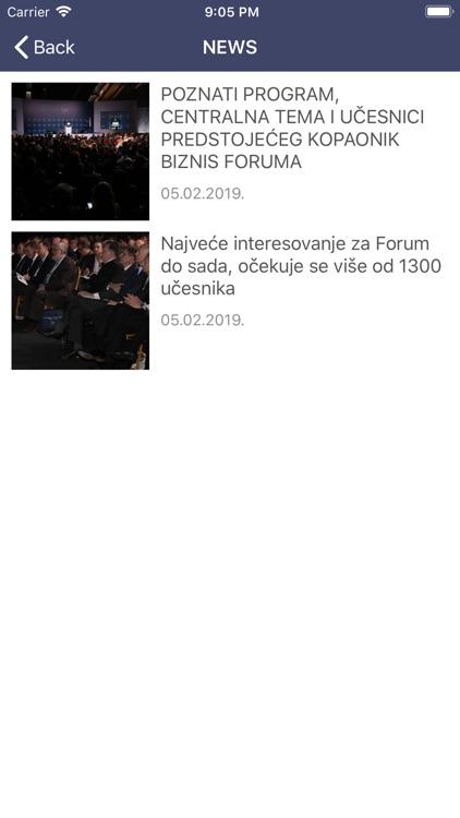Kopaonik Business Forum screenshot-5