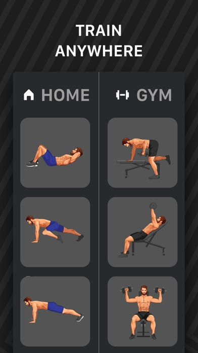 Muscle Booster Workout Tracker Screenshot