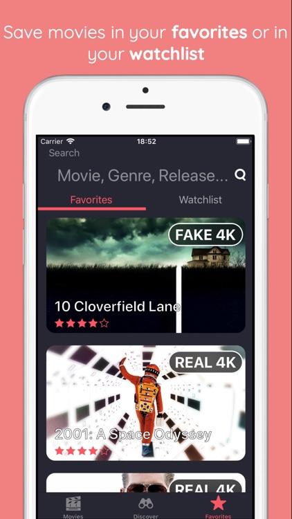 Real Fake 4k