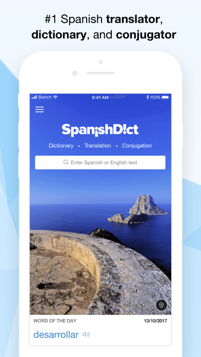 Screenshot for SpanishDict Translator in United States App Store