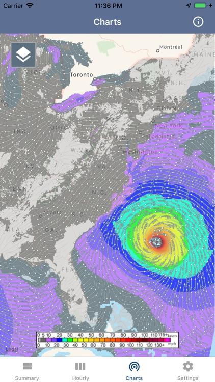 National Weather Forecast Data screenshot-4