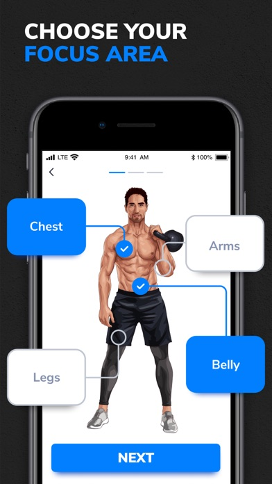 BetterMen: Fitness Planner Screenshot