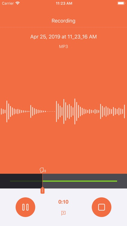 Voice Recorder HD + screenshot-6