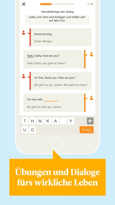 Screenshot for Babbel – Englisch lernen in Germany App Store