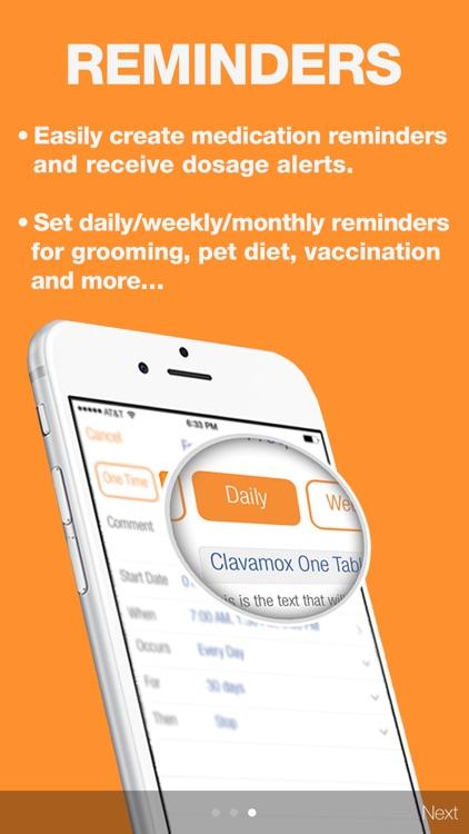 VitusVet Pet Medical Records screenshot-3