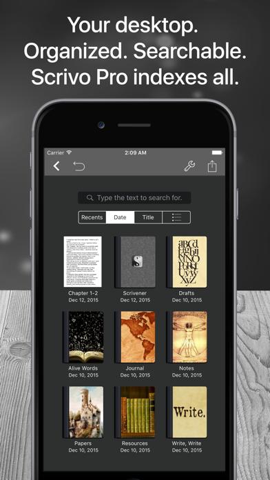 Скриншот №4 к Scrivo Pro− Scrivener Writers