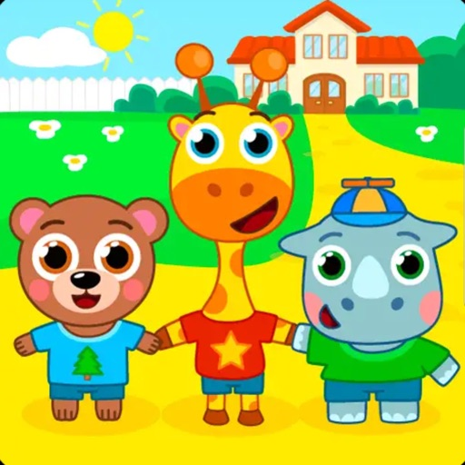 Kids Game: Puzzles Animals