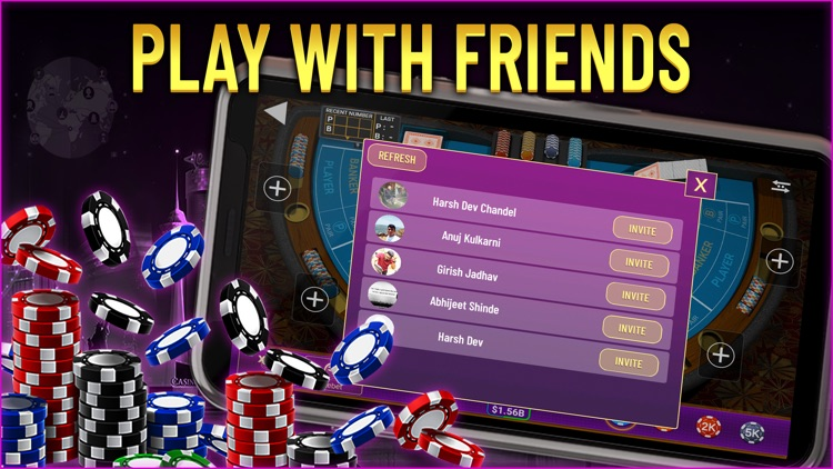 Baccarat Live Casino screenshot-5
