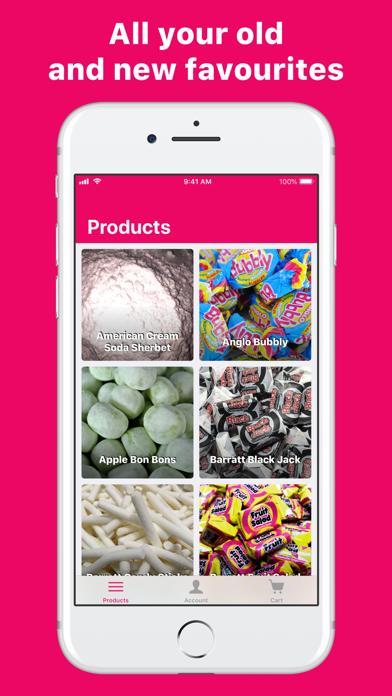 Sugar Fix - Online Sweet Shop screenshot one