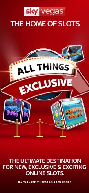 Sky Vegas Casino Games On The App Store