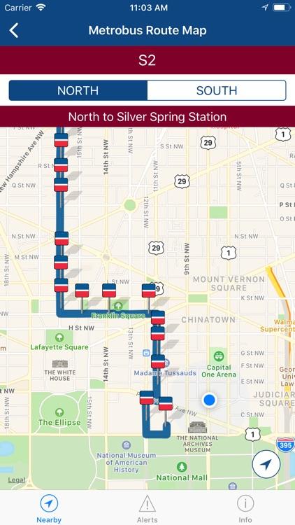 DC Mass Transit • metro + bus screenshot-7