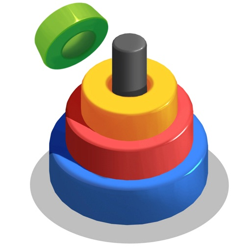 Circle Merge: Color Stack 3D