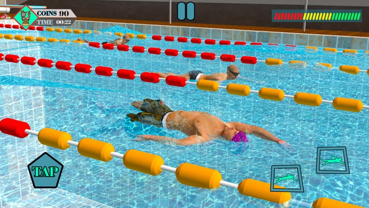 Olympic Summer Pool Water Race screenshot-3