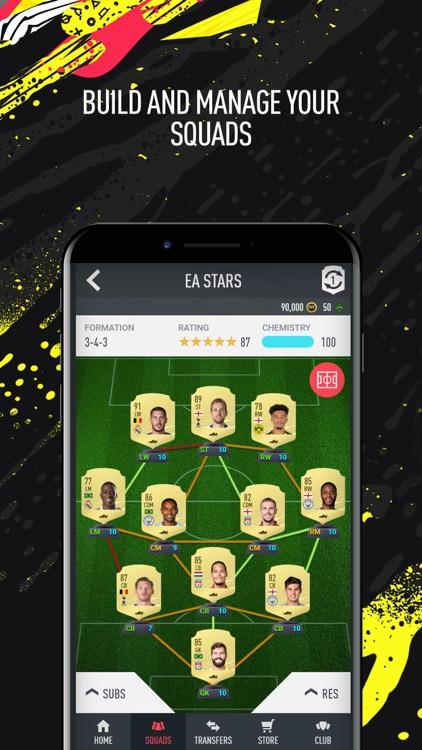 EA SPORTS™ FIFA 20 Companion screenshot-3