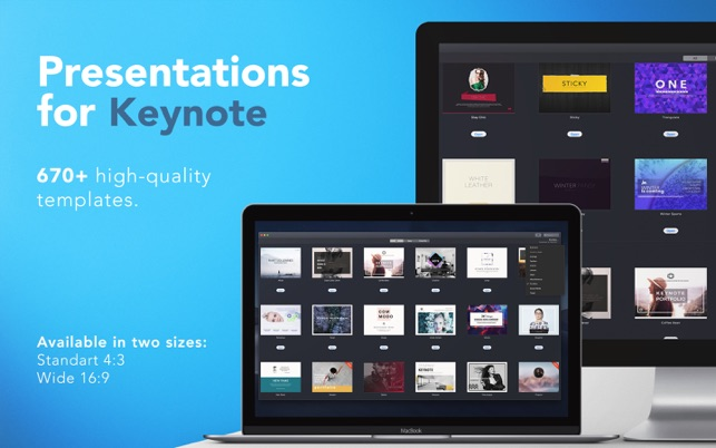 ‎Templates for Keynote - DesiGN