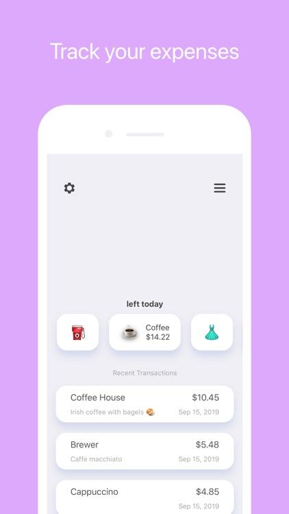 The Prax: Micro Budget Tracker screenshot-0