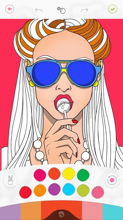 Colorfy: Art Coloring Game screenshot-0