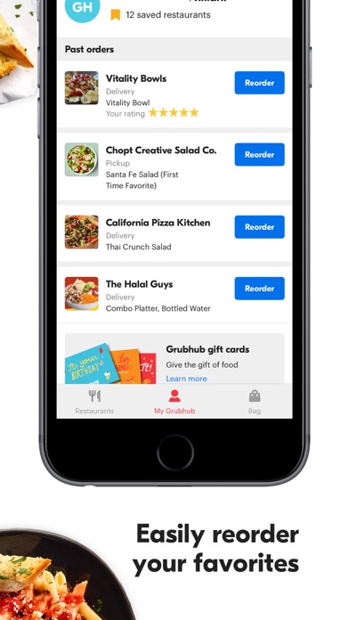download Grubhub: Local Food Delivery apps 3