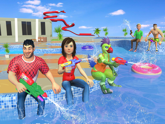 Water Shooting Nurf Battle screenshot #2