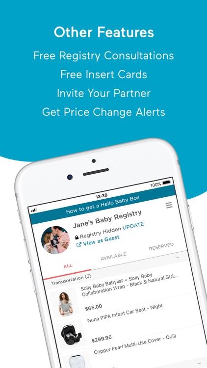 Babylist Baby Registry screenshot-3