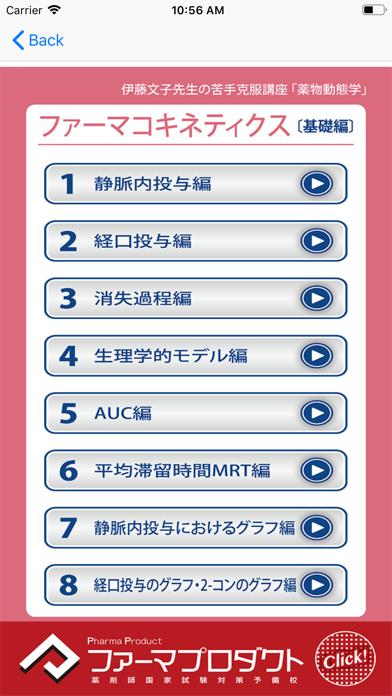 ココカラ国試対策(薬物動態) Screenshot