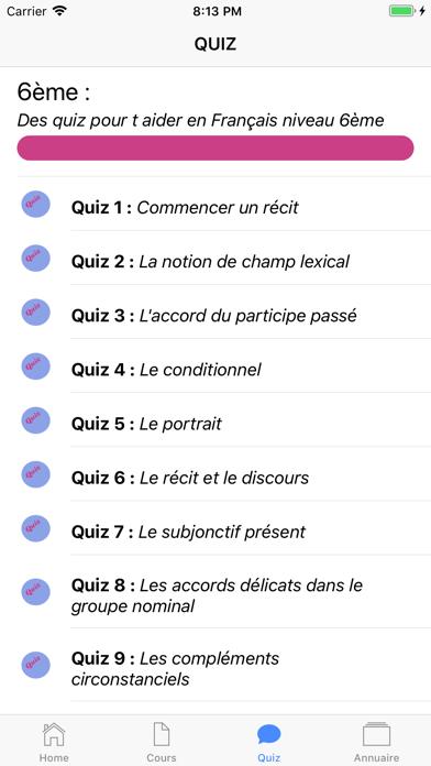 Français 6ème screenshot 4