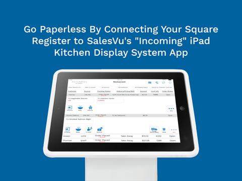 SalesVu POS for iPad - náhled
