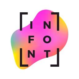 InFont: Text on Stories Design