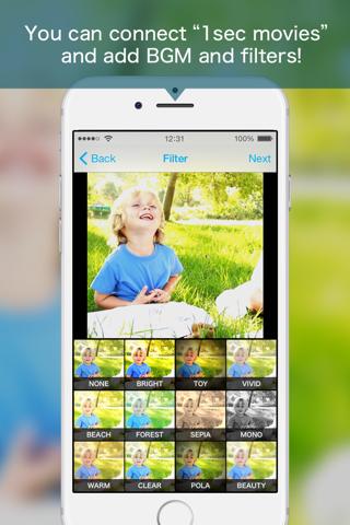 1secCamera:Clipbox - náhled
