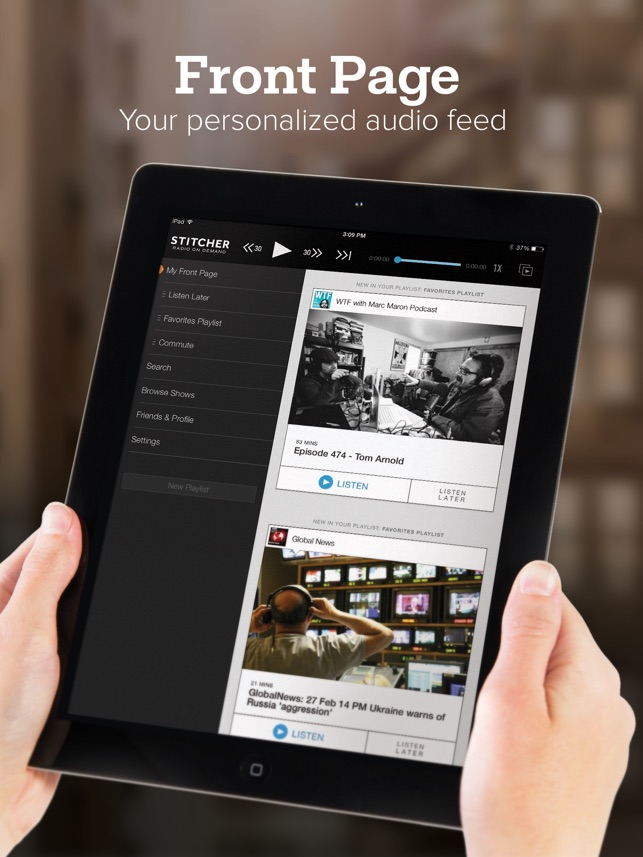 24f770fdd3  Stitcher for Podcasts on the App Store