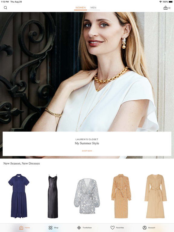 Screenshot #6 pour Moda Operandi | Luxury Fashion
