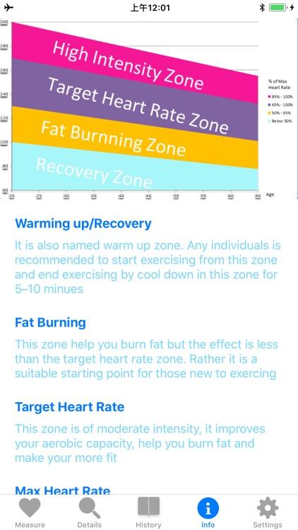 'Heart Rate Monitor screenshot-5
