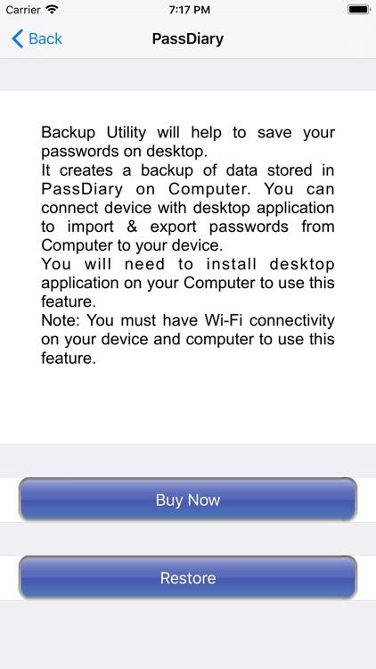 PassDiary Password Manager screenshot-4