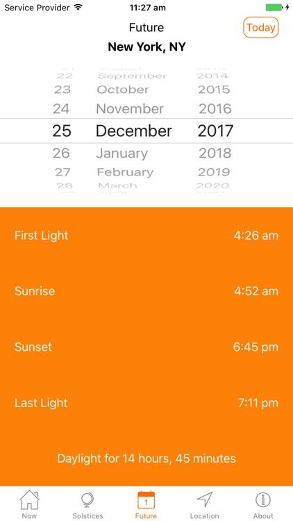 Sunrise Sunset Professional screenshot-5